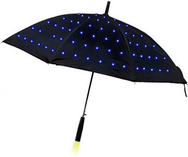 LED Lumadot Umbrella: Right Out of Blade Runner