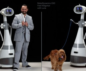 Luna Personal Robot Can Walk the Dog