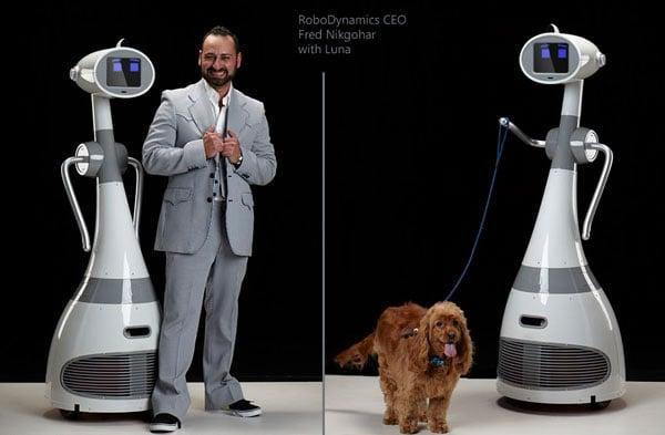 Robotic Dog Drawing Robot Can Walk The Dog «