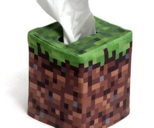 Minecraft Tissue Box Covers Pixelate Your Kleenex