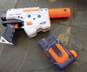 NERF Thunderstorm Water Gun Uses Magazines