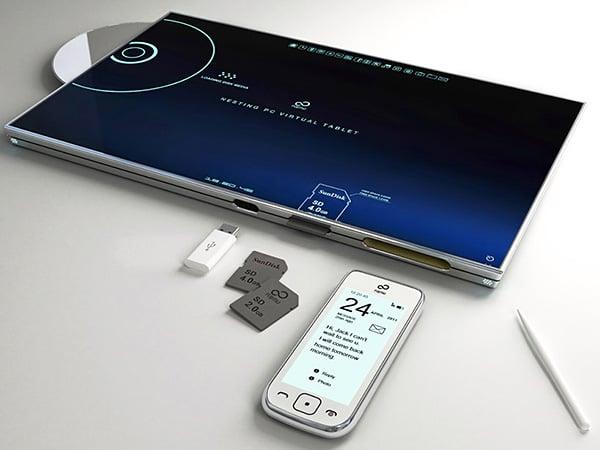 Nesting Pc Virtual Tablet Concept By Sono Mocci 3 Technabob