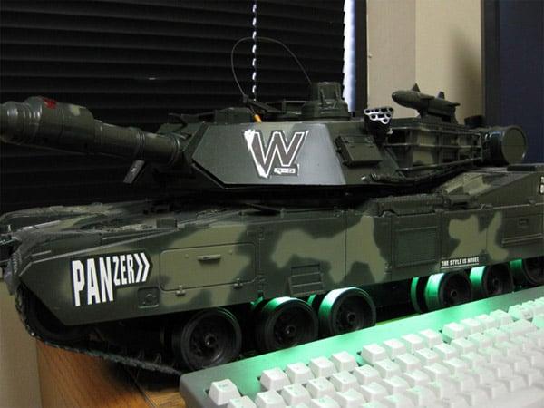 panzer tank casemod by skip station 1