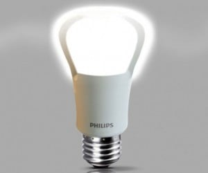 Philips Unveils World's First Direct LED Replacement for 75W Incandescent Bulbs