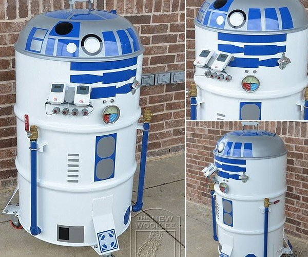 R2-D2 Smoker: May the (BBQ) Sauce Be With You