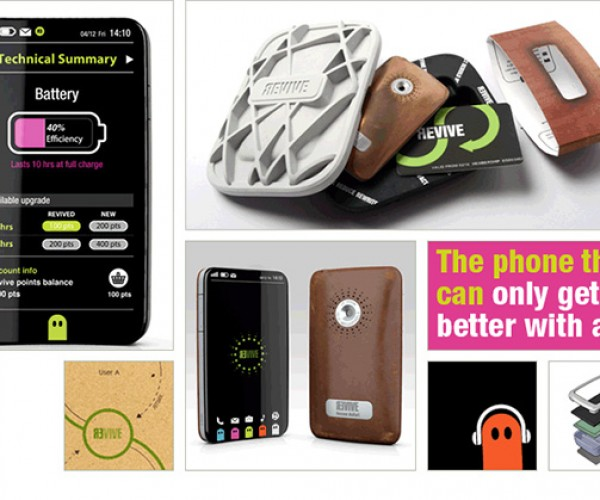 Revive Smartphone: Upgradeable Phone Concept