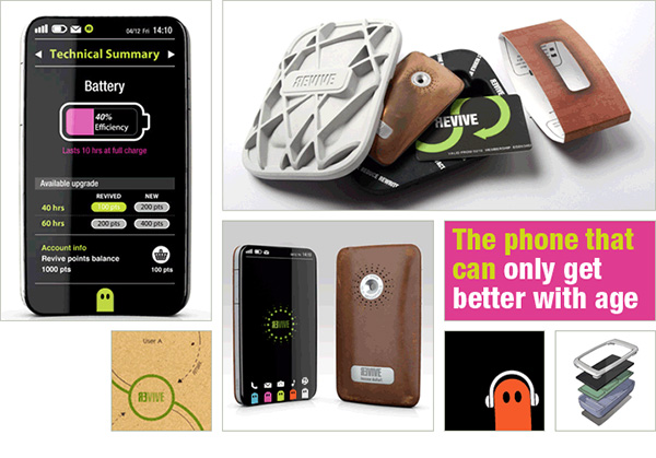 revive smartphone concept by kinneir dufort