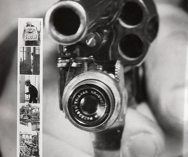 Revolver with Camera Hails from 1938