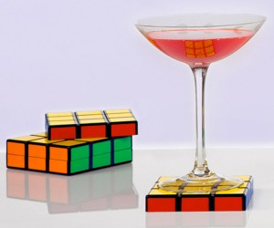 Rubik's Coasters Solve Drinksweat