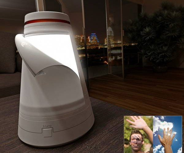 The Secret Lamp Dual-Purpose Light Saves Energy and Gets Creative About It, Too!