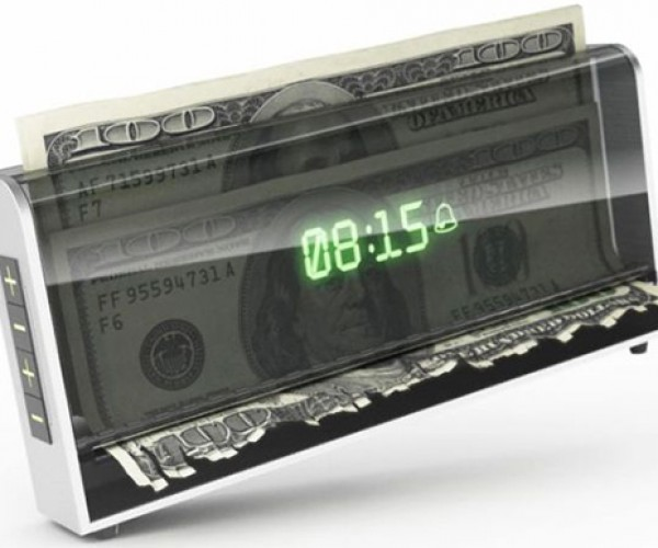 Shredder Alarm Clock Concept: You Snooze, You Lose Money