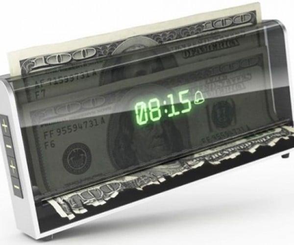 Shredder Alarm Clock Concept: You Snooze, You Lose Money