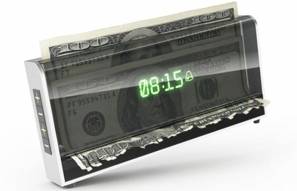 shredder alarm clock