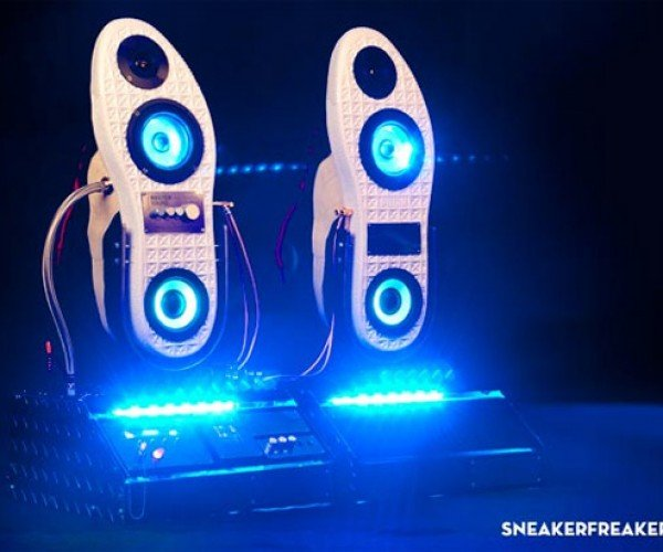 Sneaker Speakers Go Super-Size
