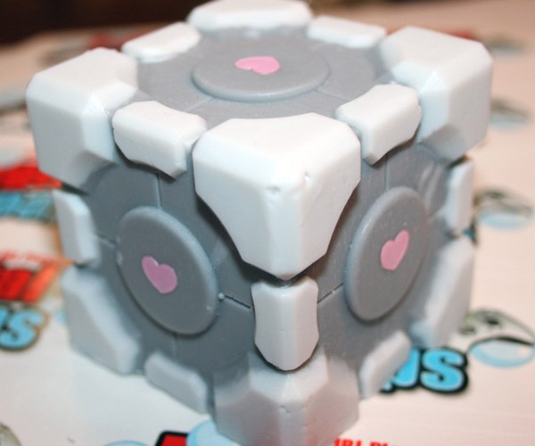 Weighted Companion Cube Soap Keeps You Company in the Bathroom
