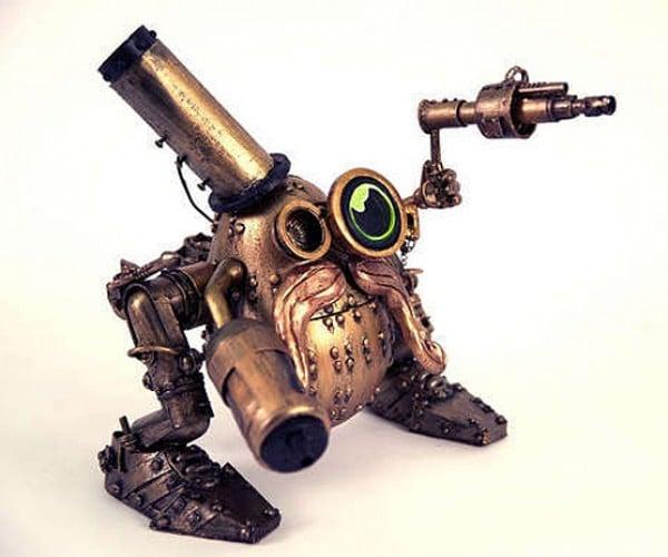 Steampunk Mr. Potato Head: Meet Spudnik Von Trap