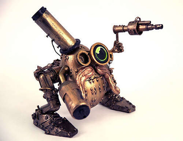 steampunk mr potato head by sarah calvillo