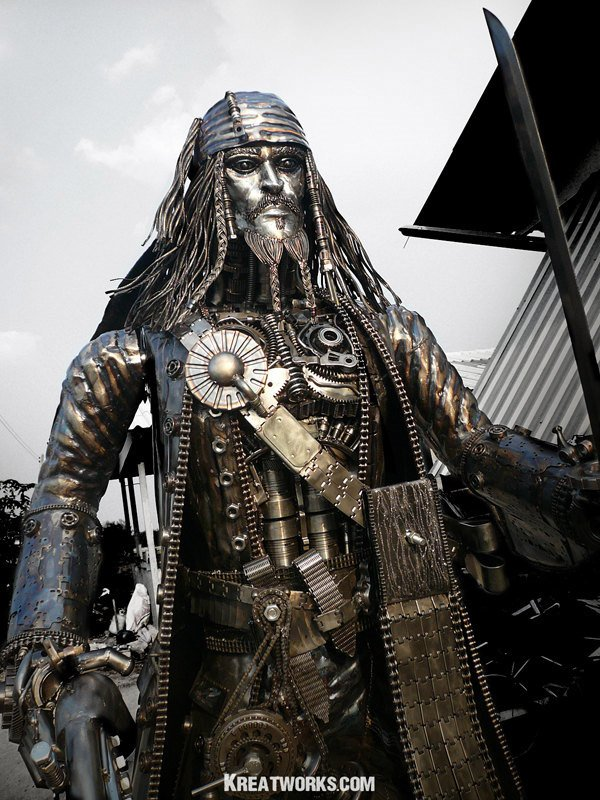 steampunk_jack_sparrow_metal_sculpture_1