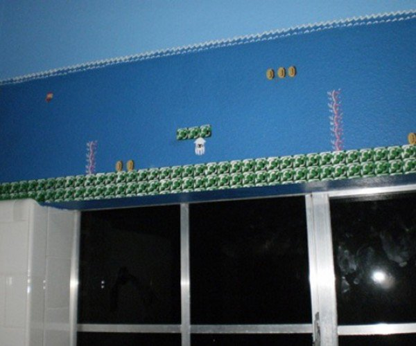 super mario bros themed bathroom by eisley 3