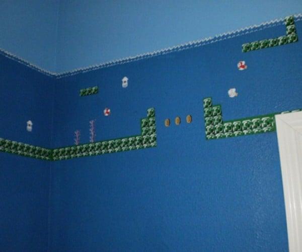 super mario bros themed bathroom by eisley 5