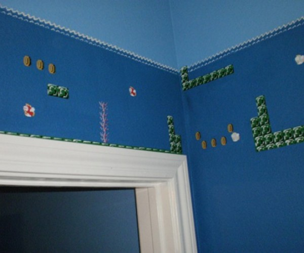 super mario bros themed bathroom by eisley 6