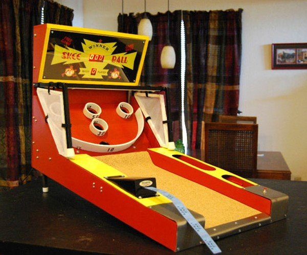 Tiny Skee Ball Machine Doles Out Tickets You Can't Redeem for Anything Good
