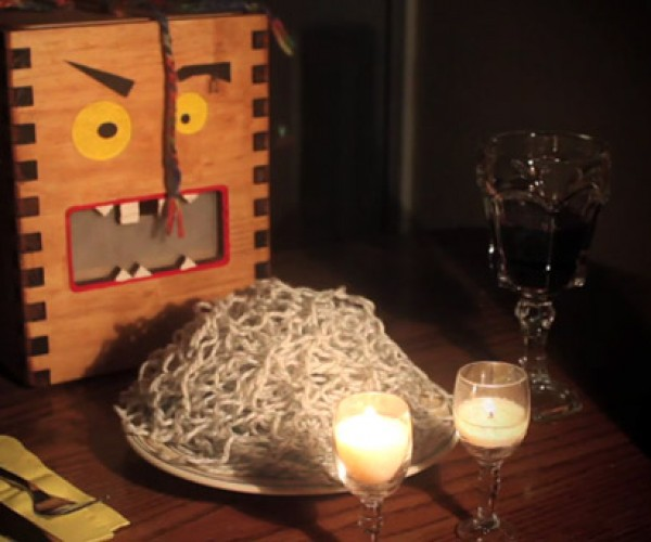 Yarn Monster Eats Yarn for Dinner, Could Be Sitting at Your Table Soon