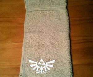 It's Dangerous to Bathe Alone! Take This Zelda Towel