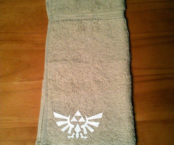 It's Dangerous to Bathe Alone! Take This Zelda Towel