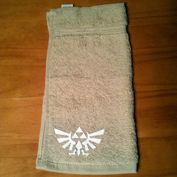 zelda towel from videogamedecals