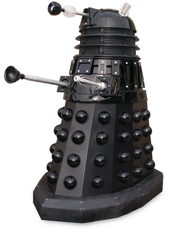 dalek doctor who bbc life-sized replica exterminate robots