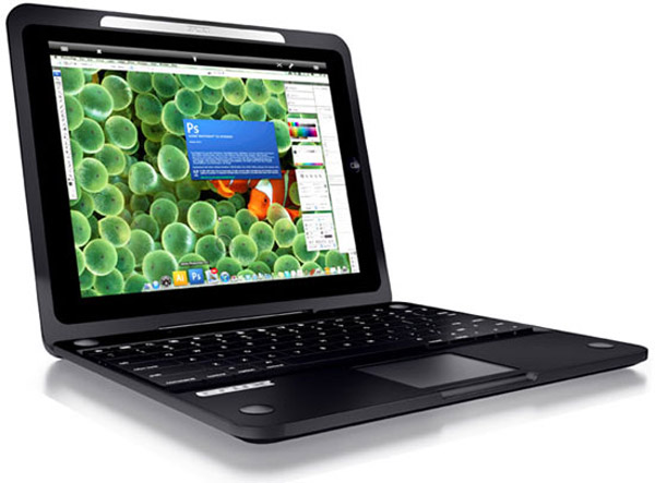 crux loaded case ipad 2 keyboard tablet transformer trackpad