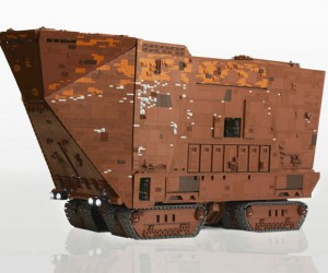 The 10,000-Piece LEGO Sandcrawler