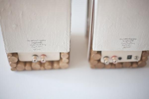 natural speaker wood porcelain joon jung eindhoven