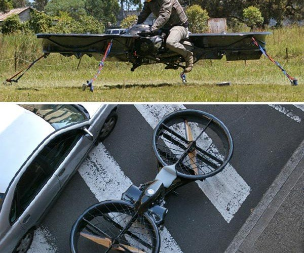 Real Hoverbike in the Works: Just Don't Fall Off