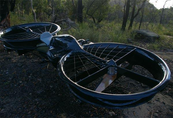 hoverbike chris malloy australia motorcycle ultralight