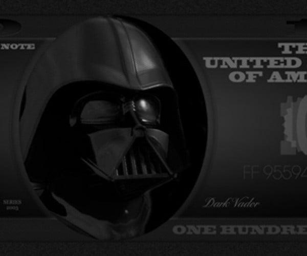 Make Your Own Franklin: Darth Vader 100 Dolla Bills, Y'all