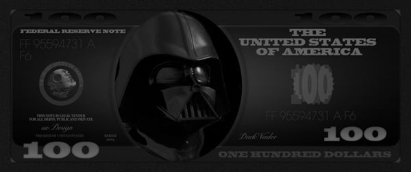 make your own franklin darth vader 100 dolla bills y all technabob