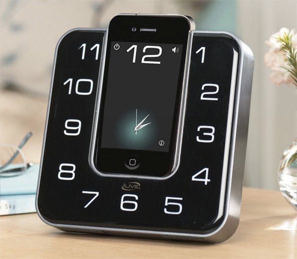 ilive clock radio app iphone ipod touch alarm