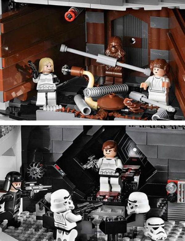 lego death star wars build diy toys cool