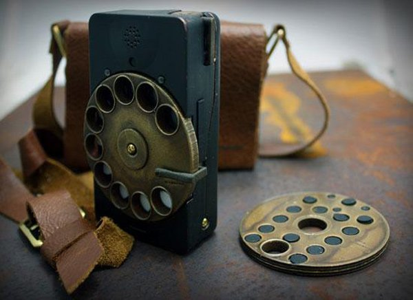 Rotary Cell Phone Steampunk At Its Best Technabob