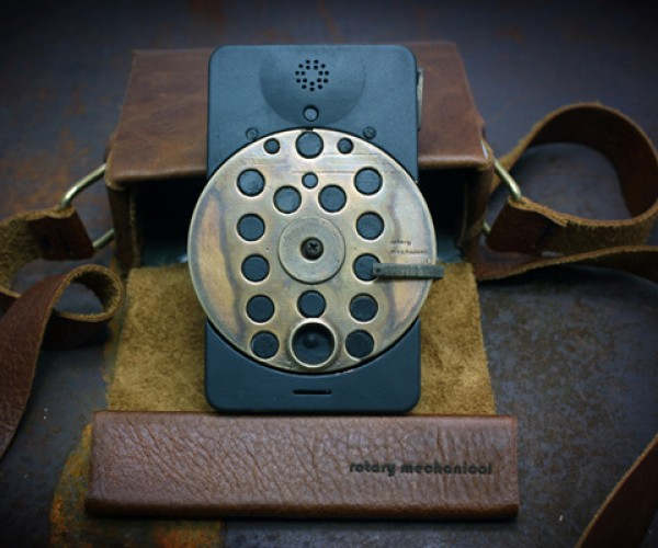 cell phones rotary concept mechanical richard clarkson steampunk