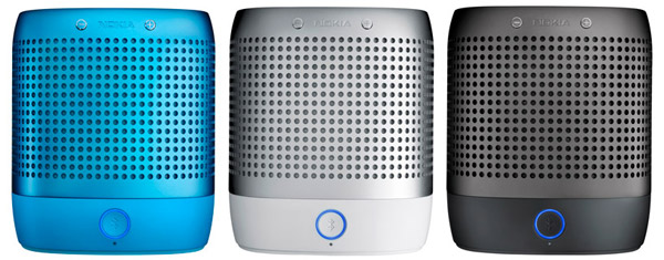 nokia nef play 360 speaker bluetooth portable audio