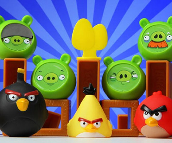 Angry Birds Knock on Wood Board Game: Not Available on Your Phone