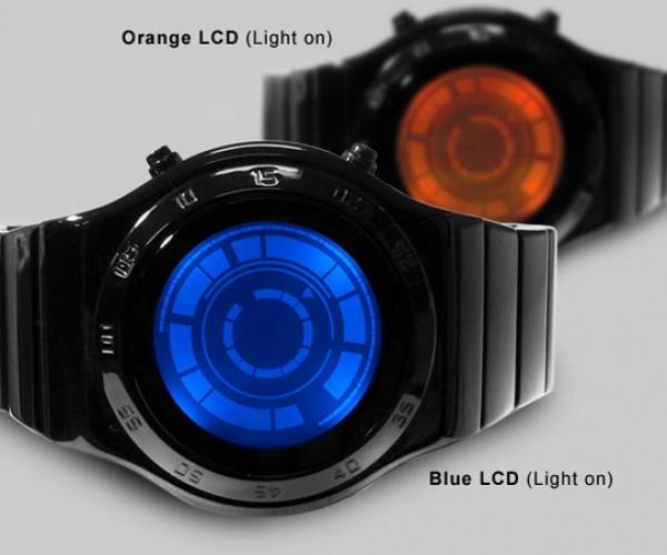 Tokyoflash Kisai Rogue SR2 Watch Mixes LCD and LED Displays