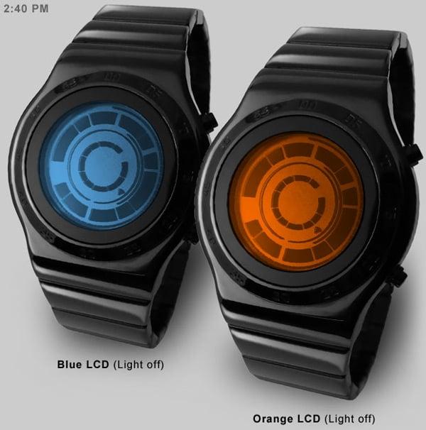 tokyoflash kisair rogue sr2 led lcd watch timepiece japan