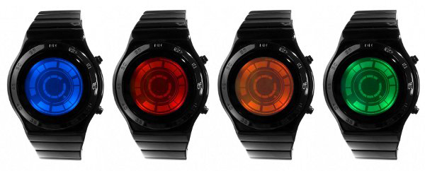 tokyoflash kisair rogue sr2 led lcd watch timepiece japan