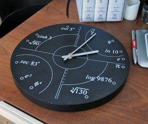 Irrational Numbers Clock is Perfectly Rational (If You're a Mathematician)