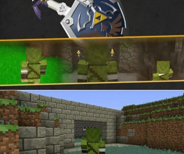 Minecraft Zelda: A Link to the Voxel