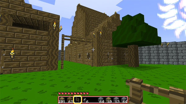 minecraft video game zelda 8-bit adventure retro
